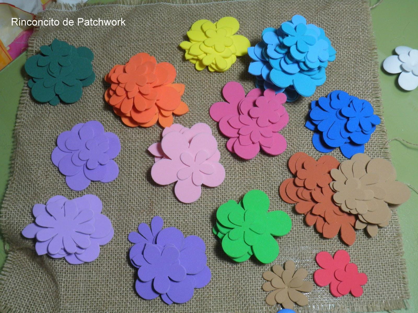 Plantillas Para Hacer Flores De Goma Eva Finest Moldes Para Hacer - Plantillas-para-hacer-flores-de-goma-eva