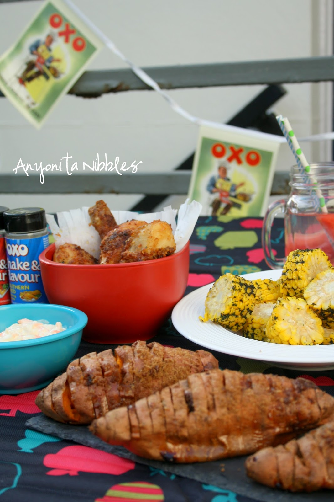 Rainy Day Barbecue Spread from Anyonita Nibbles