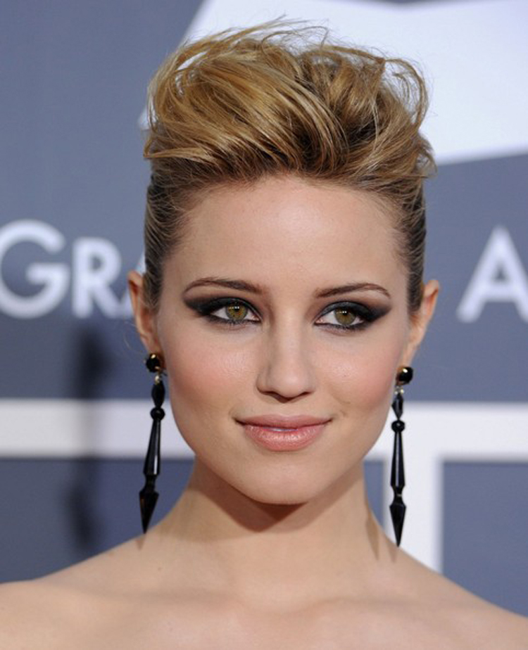 Fresh Look Celebrity Dianna Agron Hairstyles 23