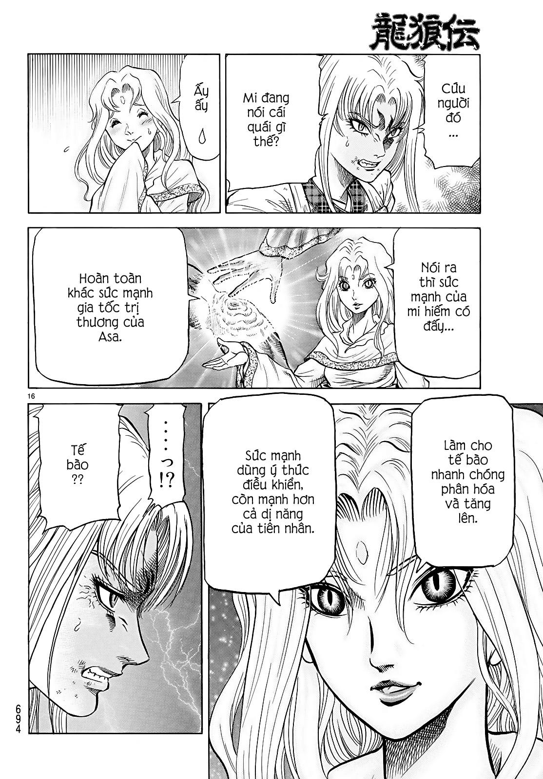 Chú bé rồng-Ryuuroden chap 260 Trang 15 - Mangak.info