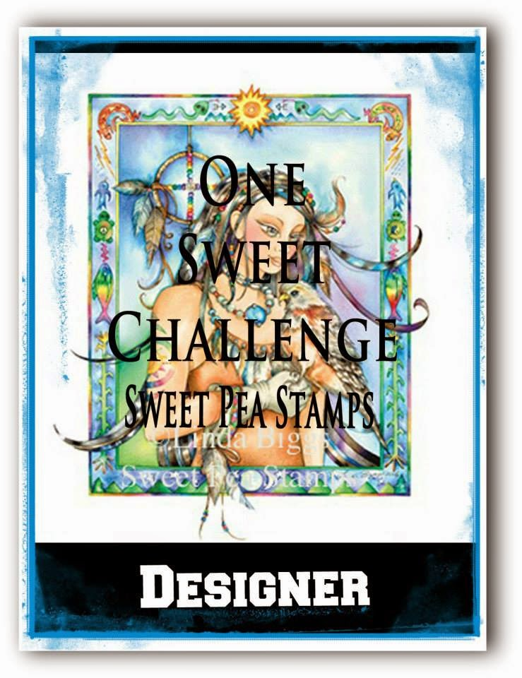 SWEET PEA STAMPS CHALLENGE dt