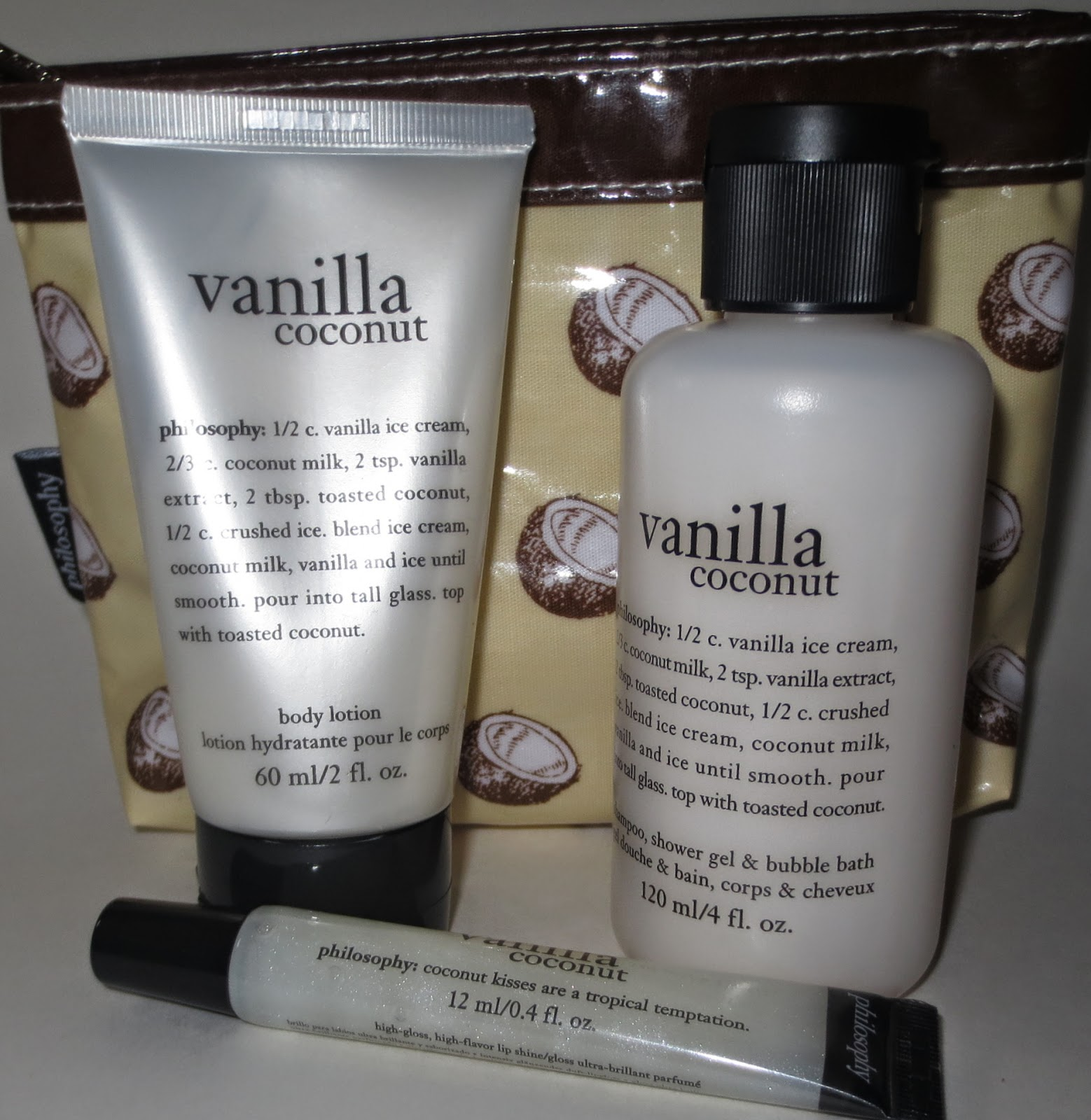 Philosophy Vanilla Coconut Limited Edition Gift Set