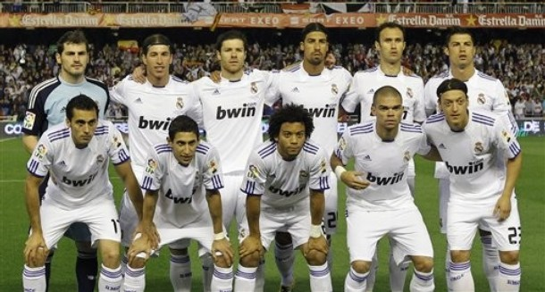 real madrid 2011 team picture. Barcelona 0 - 1 Real Madrid