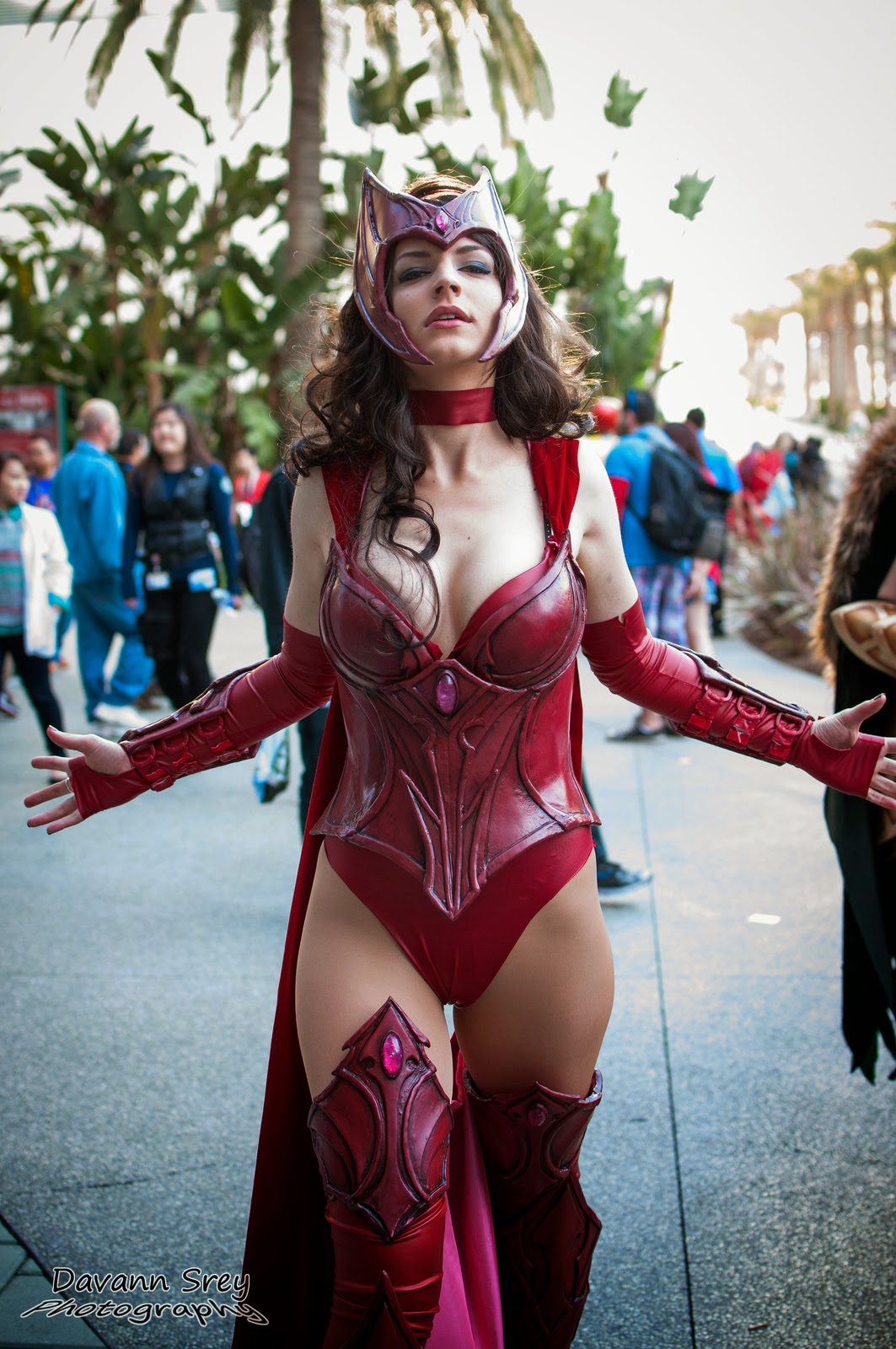 photo de cosplay de la wondercon 2014 de scarlett witch