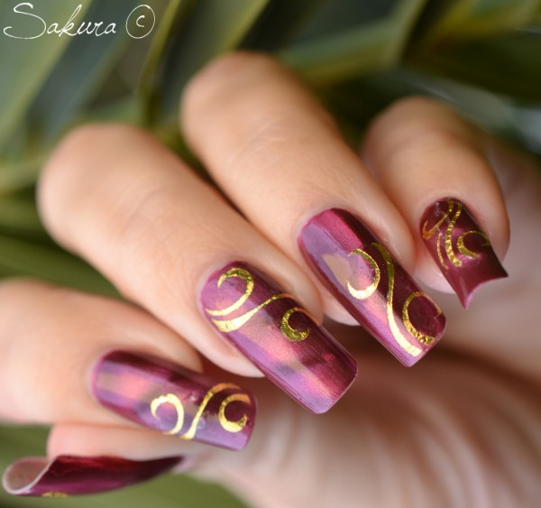Nail Designs And Nail Art Latest Trends: Latest Trend Nail Arts Designs For This Christmas Time