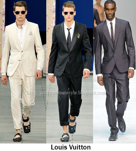 Louis Vuitton мъжки костюми 2012