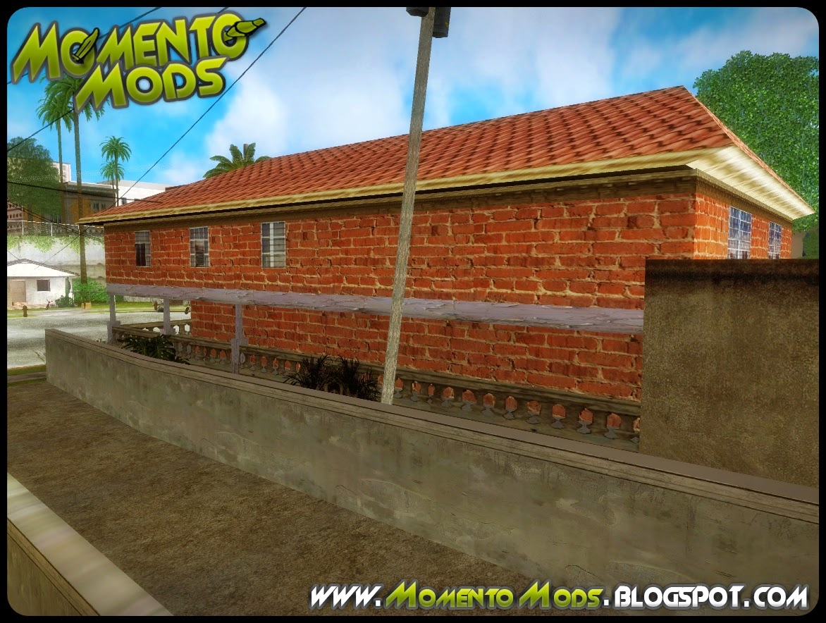 GTA SA - Novas Textura Para Casa Do CJ