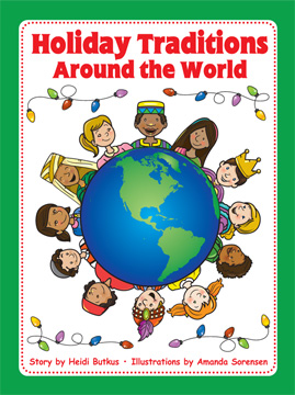 Teaching Holidays Around the World & Tips for Google Earth | Heidi Songs