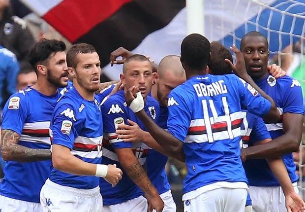 Liga Italia : Sampdori 1-1 Napoli