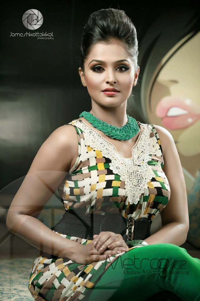 Actress Remya Nambeeshan Latest Hot Photoshoot Gallery | WoodsTimes ...