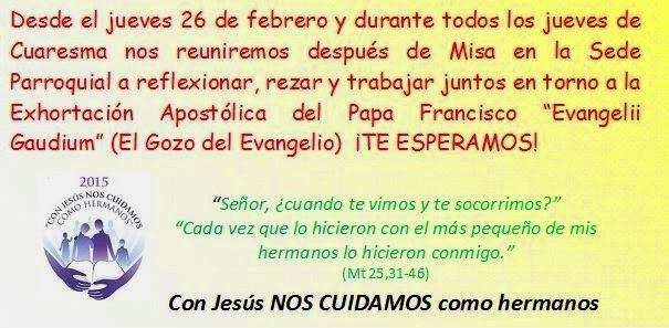 Evangelii Gaudium los jueves