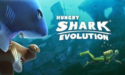 لعبة hungry shark evolution 2014 للاندرويد اخر اصدار