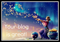 premio Your blog is great