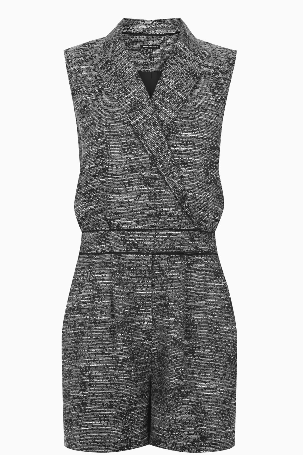 tweed playsuit