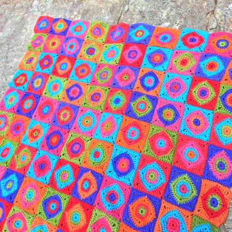 Amandas Crochet Blanket Adventures Harlequin