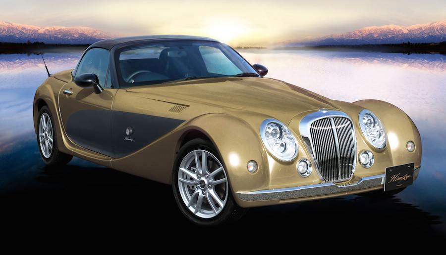 カラーバリエーションは481種類!光岡自動車「ヒミコ」の2015年モデルを発表