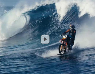 Robbie Maddison pipe dream stunt on wave