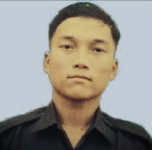 Martyr Naik Damodar Thapa of 3/1 Gorkha Rifles