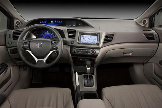 2012 honda civic interior pictures. 2012 Honda civic interior view