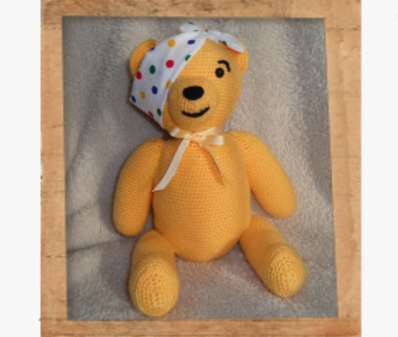 The Spiral Patch Crocheted Pudsey