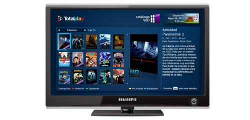 Tv por cable con internet y telefono contratar totalplay - Precio cable tv ...