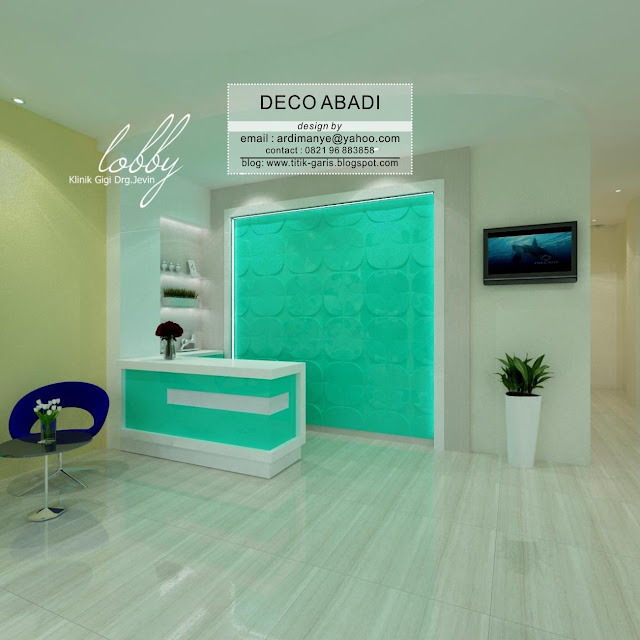 desain interior dental care indonesia