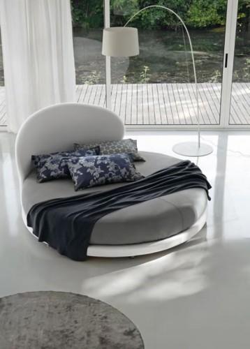 Hermosa decoraci n de habitaci n con cama redonda por - Letto rotondo ikea ...
