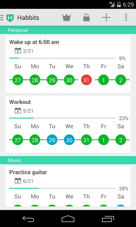 Rewrite Habits Tracker Apk