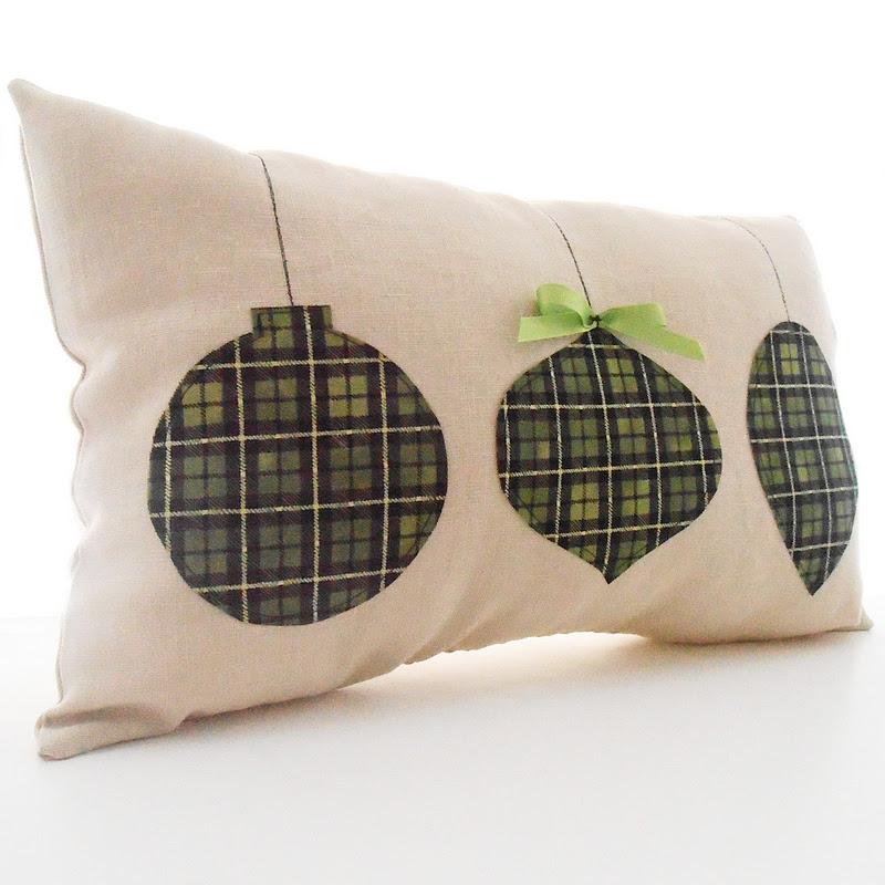 Christmas Throw Pillows Diy : Saved from