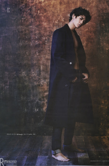Shinee Minho for W Korea December Issue scans