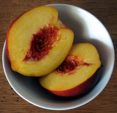 softball-sized nectarines