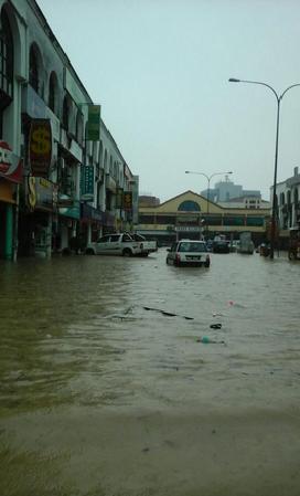banjir kilat kajang