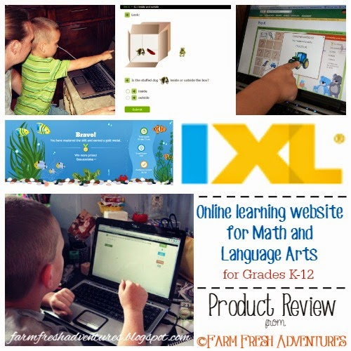 IXL online learning program