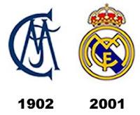 Real Madrid, Madrid C.F., escudos,