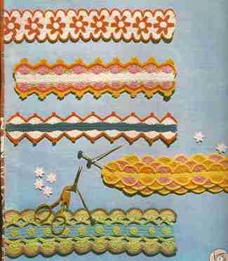 Encajes a Crochet o Ganchillo