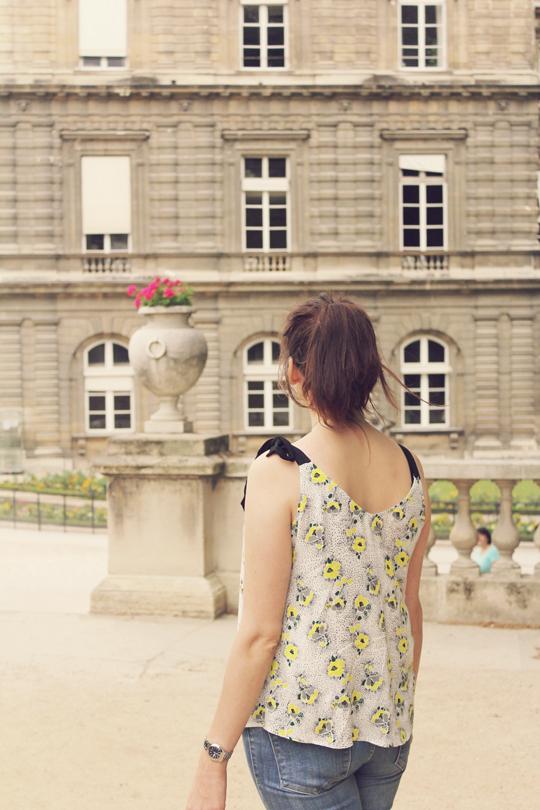 Paris Jardin Luxembourg