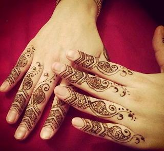 Arabic Mehndi Designs For Fingers