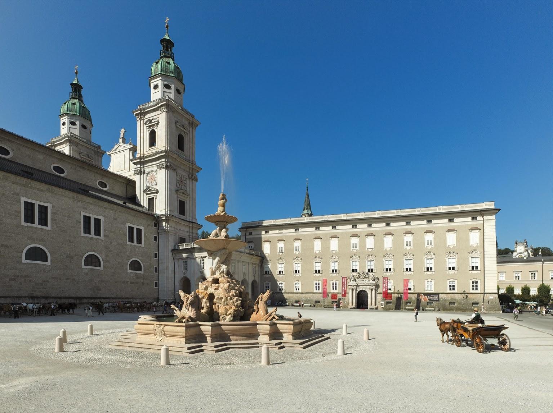 Salzburg Palads (Salzburger Residenz), Østrig