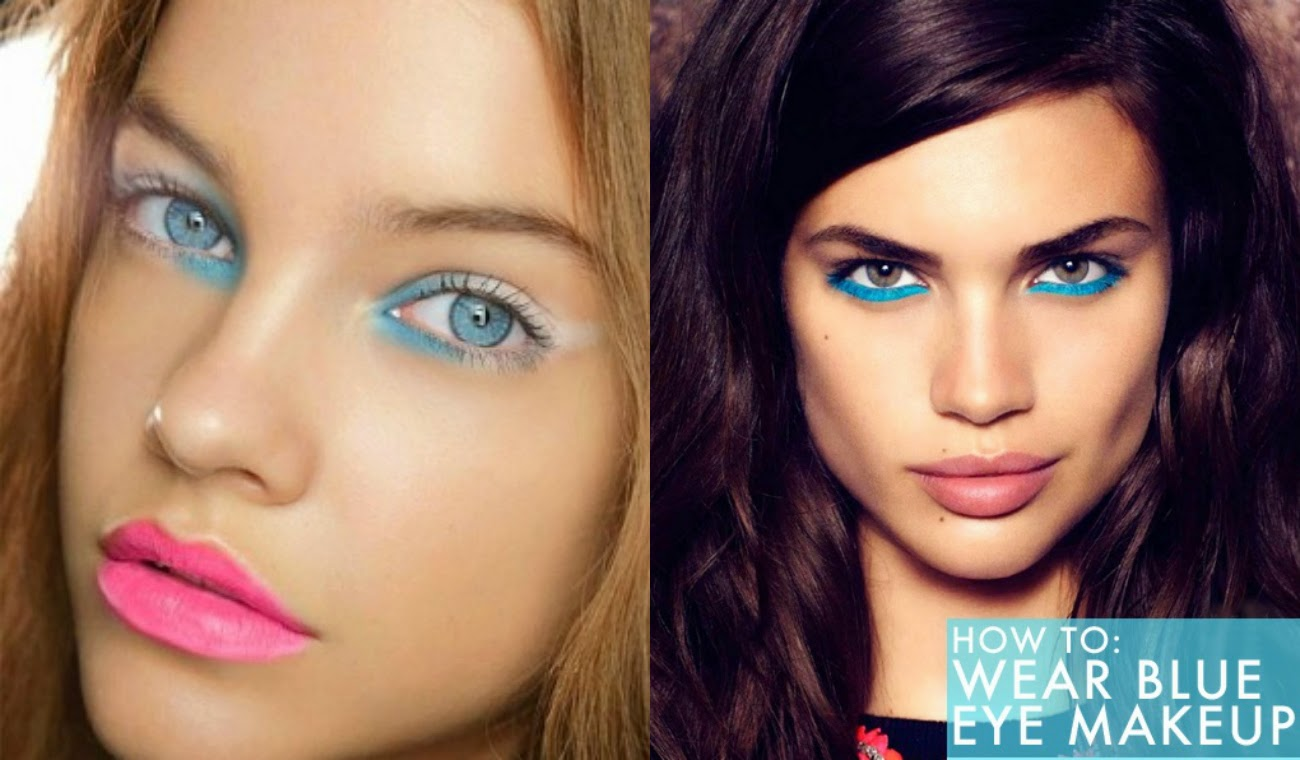 How to eye makeup for blue eyes