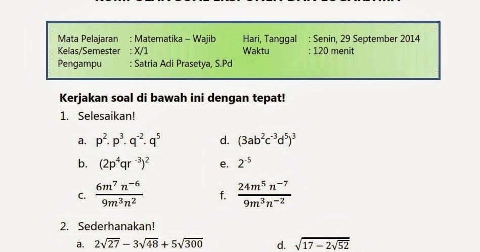 Soal essay bahasa indonesia kelas 9 semester genap picture 5