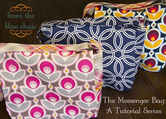 from the blue chair: Messenger Bag Tutorial
