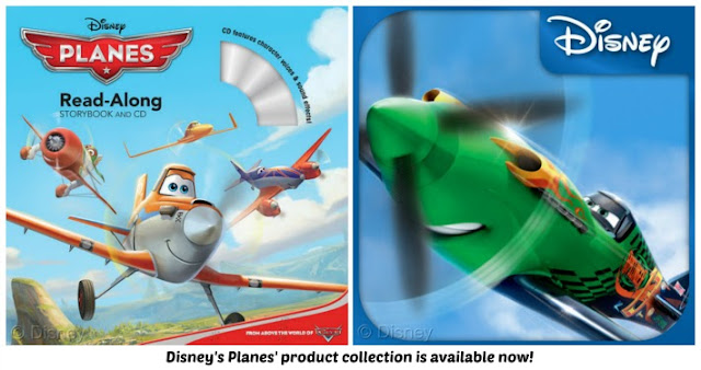 For little pilots: Disney's Planes Flight School Reading