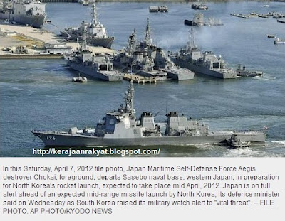 Japan is on full alert ahead of an expected mid-range missile launch by North Korea