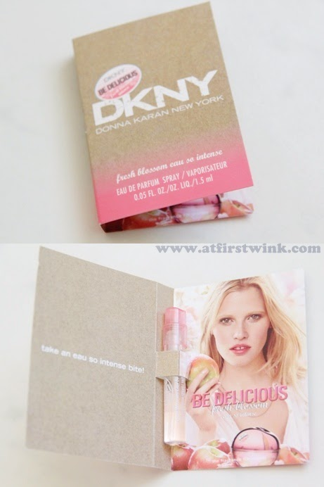 DKNY fresh blossom eau so intense eau de parfum sample