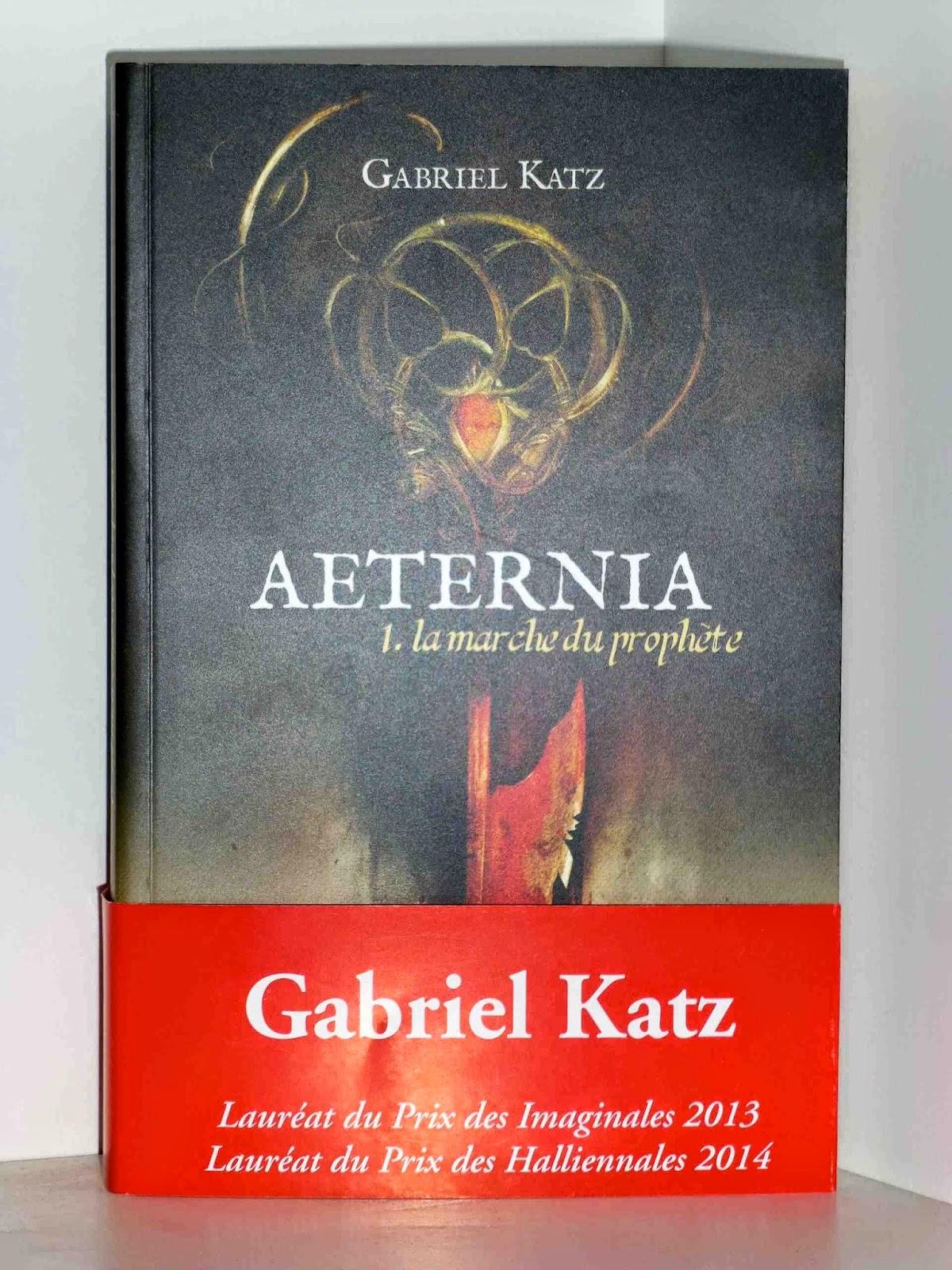 Aeternia Gabriel Katz Lauréat