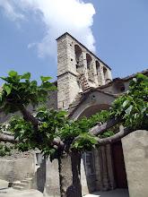 Le clocher de l'église, à peigne..