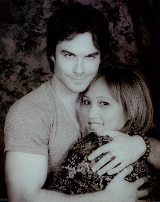 w/ Ian Somerhalder ~ 2012 Vampire Diaries Convention ~ San Francisco, CA