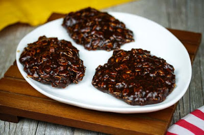 No Bake Chocolate Coconut Oatmeal Cookies | In The Kitchen With ...