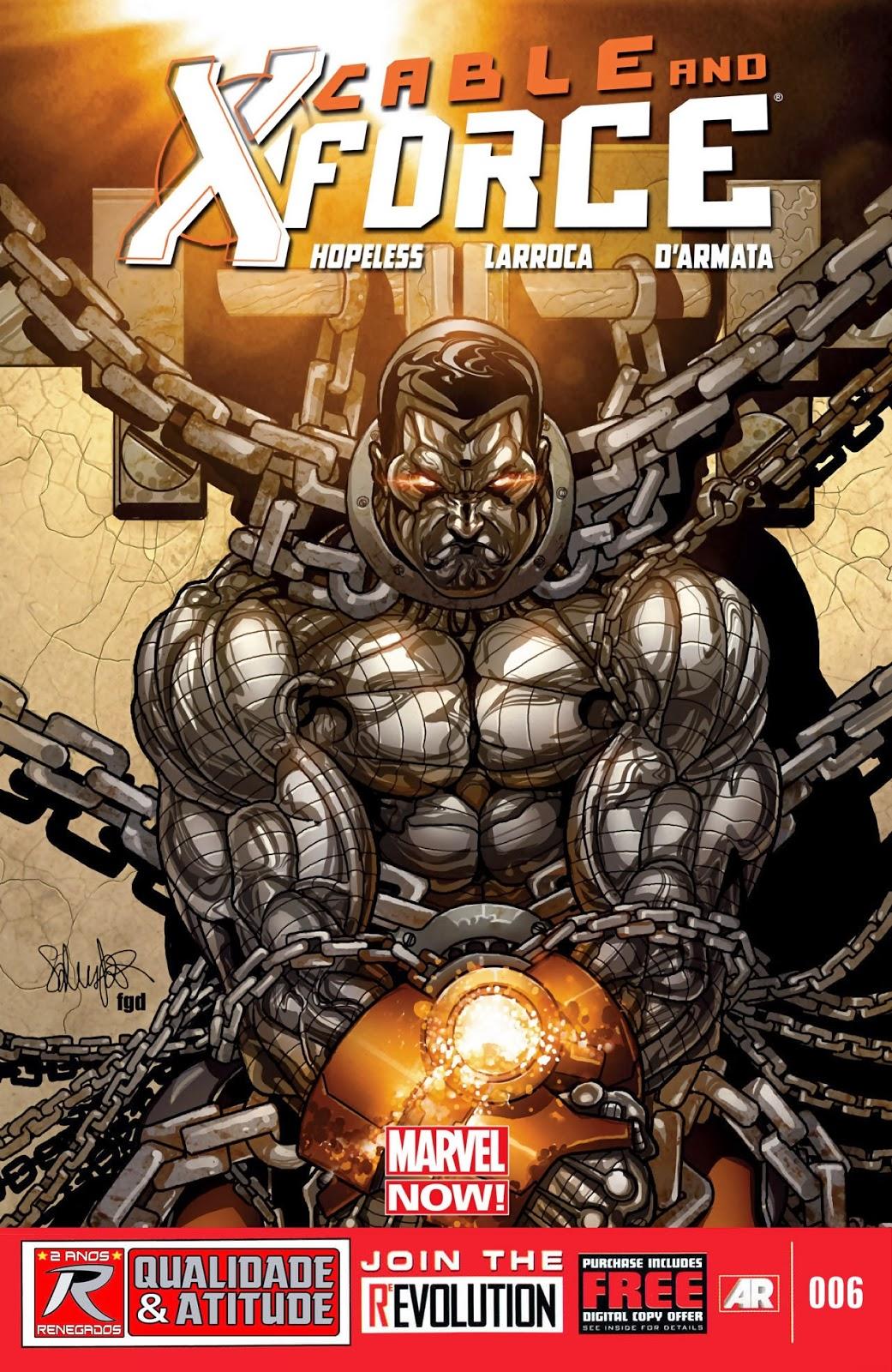 Nova Marvel! Cable e a X-Force #6