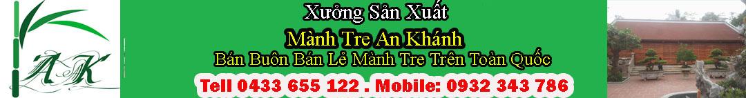 Mành Tre Trúc Che Nắng Ban Công - Mành Tre An Khánh